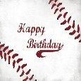 Send Baseball Birthday Wishes.