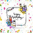 Birthday Wish Confetti.
