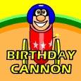 Birthday Cannon.