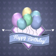 Beautiful Birthday Balloons.