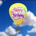Happy Birthday Balloon.