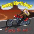 Happy Birthday Motor Bike.