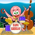 Octopus Birthday Song.