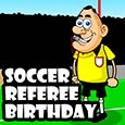 Soccer Referee Birthday.