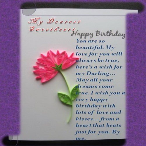 Happy Birthday With Lots Of Love Free Husband Wife eCards – Birthday Cards for Husband with Love