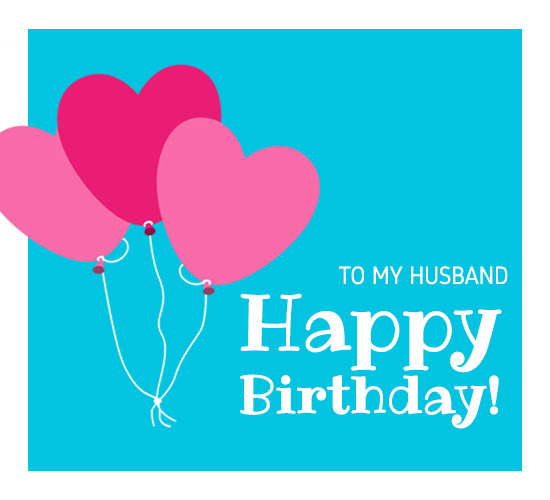 Hubby Birthday Free For Husband Wife ECards Greeting Cards