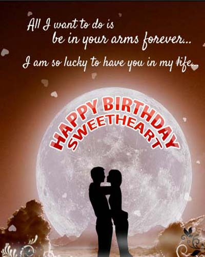 Romantic Birthday Greetings Free For Husband Wife ECards