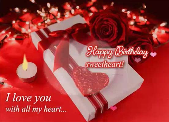 Romantic Birthday Greetings Sweetheart Free For Husband Wife