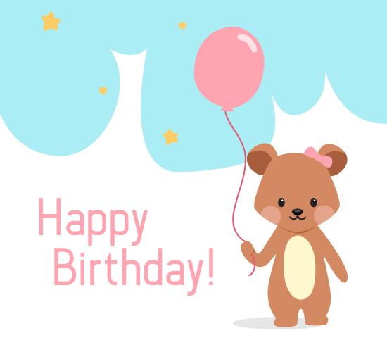 Birthday Bear.