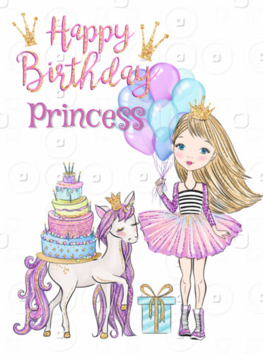 Happy Birthday Little Girl Princess Free For Kids Ecards