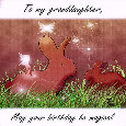 Bunny N Fairy B'Day Wish.