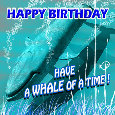 Have A Whale Of A Birthday!