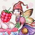 Home : Birthday : For Kids - Happy Birthday To A Girl. Cute Fairy!