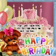 Home : Birthday : Happy Birthday Messages - A Birthday Message Ecard.