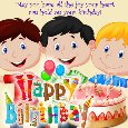 Home : Birthday : Happy Birthday Messages - A Heartwarming Birthday Message Card.