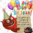 Home : Birthday : Happy Birthday Messages - It's Your Birthday!