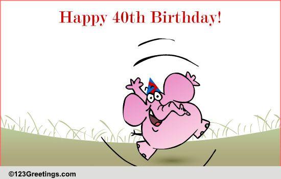 fun 40th birthday wish  free milestones ecards  greeting