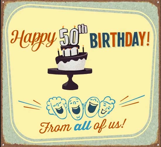 happy 50th  free milestones ecards  greeting cards