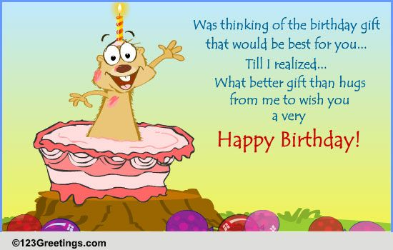 A Birthday Wish Free Miss You Ecards Greeting Cards
