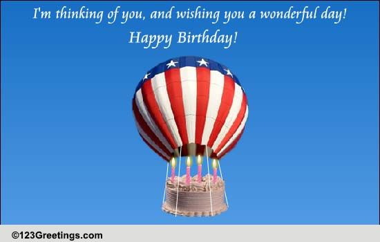 Birthday Wishes From Far Away! Free Miss You eCards, Greeting Cards ...