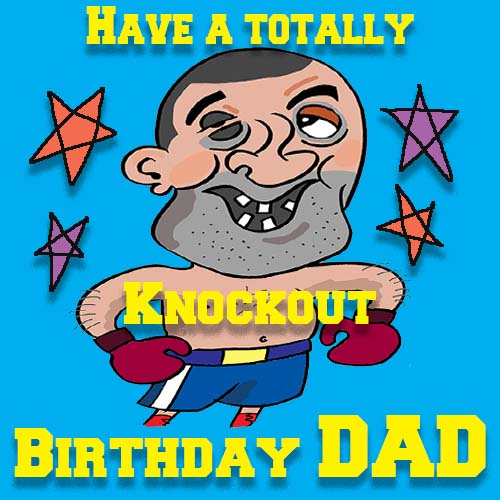 Knockout Birthday Free For Mom Dad ECards Greeting Cards
