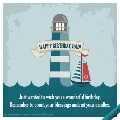 A Humorous Birthday Ecard For Your Dad