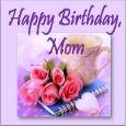 Happy Birthday Mom, My Best Friend!