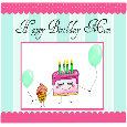 Cake And Cupcake For Birthday Mom!