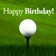 Dad Birthday Golfing.