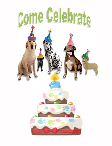 Celebrate Pet's Birthday Party!