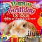 Home : Birthday : Pets - A Cute Pet's Birthday Wish Car Greeting Cardsd