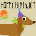 Happy Birthday Wiener Dog.