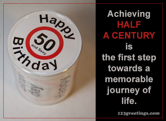 Half A Century!