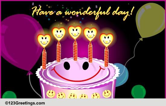 Happy Birthday Free Smile Ecards Greeting Cards 123