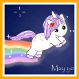 Home : Birthday : Smile - Unicorn Funny Birthday Wishes.