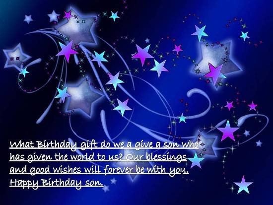 A Lovely Birthday Wish Free For Son Daughter ECards