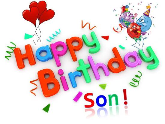Birthday Wish For Your Dear Son