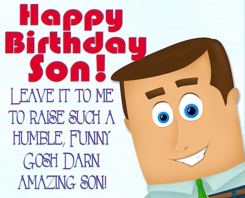 For My Gosh Darn Amazing Son!