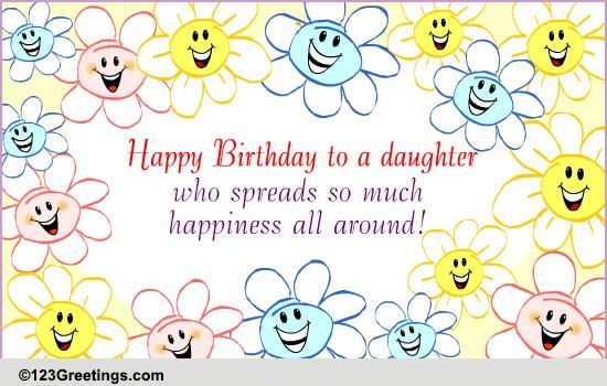 Spreads Happiness Free For Son Amp Daughter Ecards