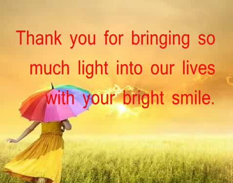 Cool Thank You For Bringing So Much Light Free For Son Funny Birthday Cards Online Aboleapandamsfinfo