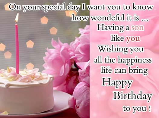 Happy Birthday To My Son Free For Son Daughter Ecards 123 Greetings