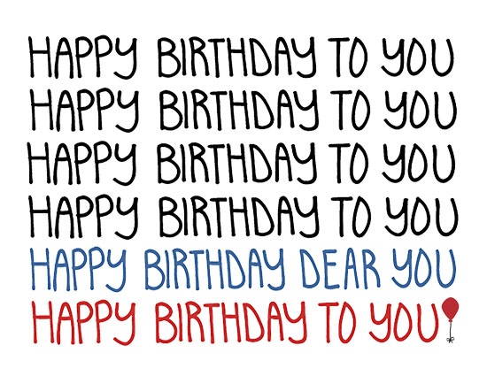 Happy Birthday To You - Song.