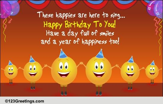 singing the birthday song free songs ecards greeting