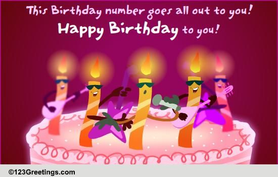 A Singing Birthday Wish! Free Songs eCards, Greeting Cards