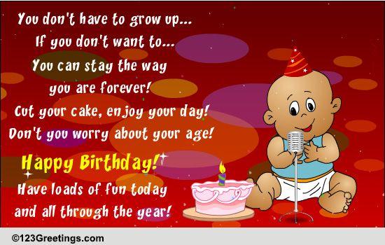 Singing Birthday Baby! Free Songs eCards, Greeting Cards ...  Singing