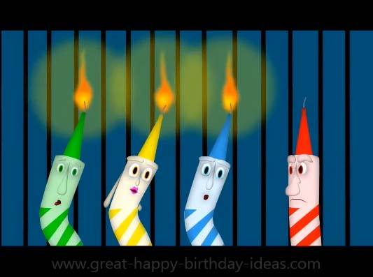Groovy Happy Bday Singing Candles For You Free Songs Ecards Funny Birthday Cards Online Necthendildamsfinfo