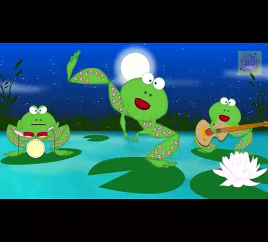 Crazy Frogs Singing Happy Birthday Free Songs ECards Greeting Cards