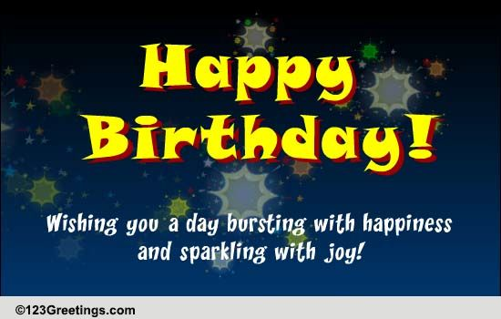 Birthday Blast Free Specials Ecards Greeting Cards 123