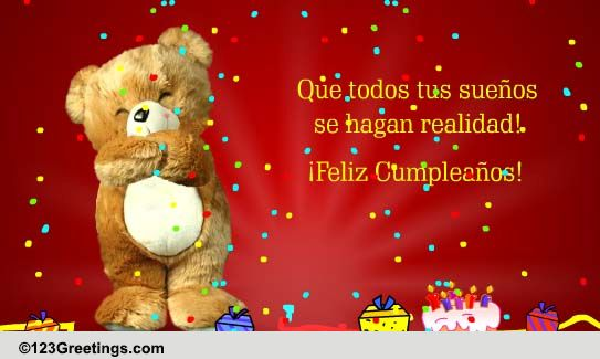 1000+ images about Birthday wishes-Spanish on Pinterest