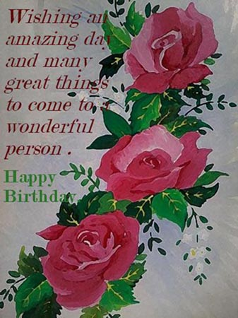 Wish A Wonderful Birthday Free Birthday Wishes Ecards